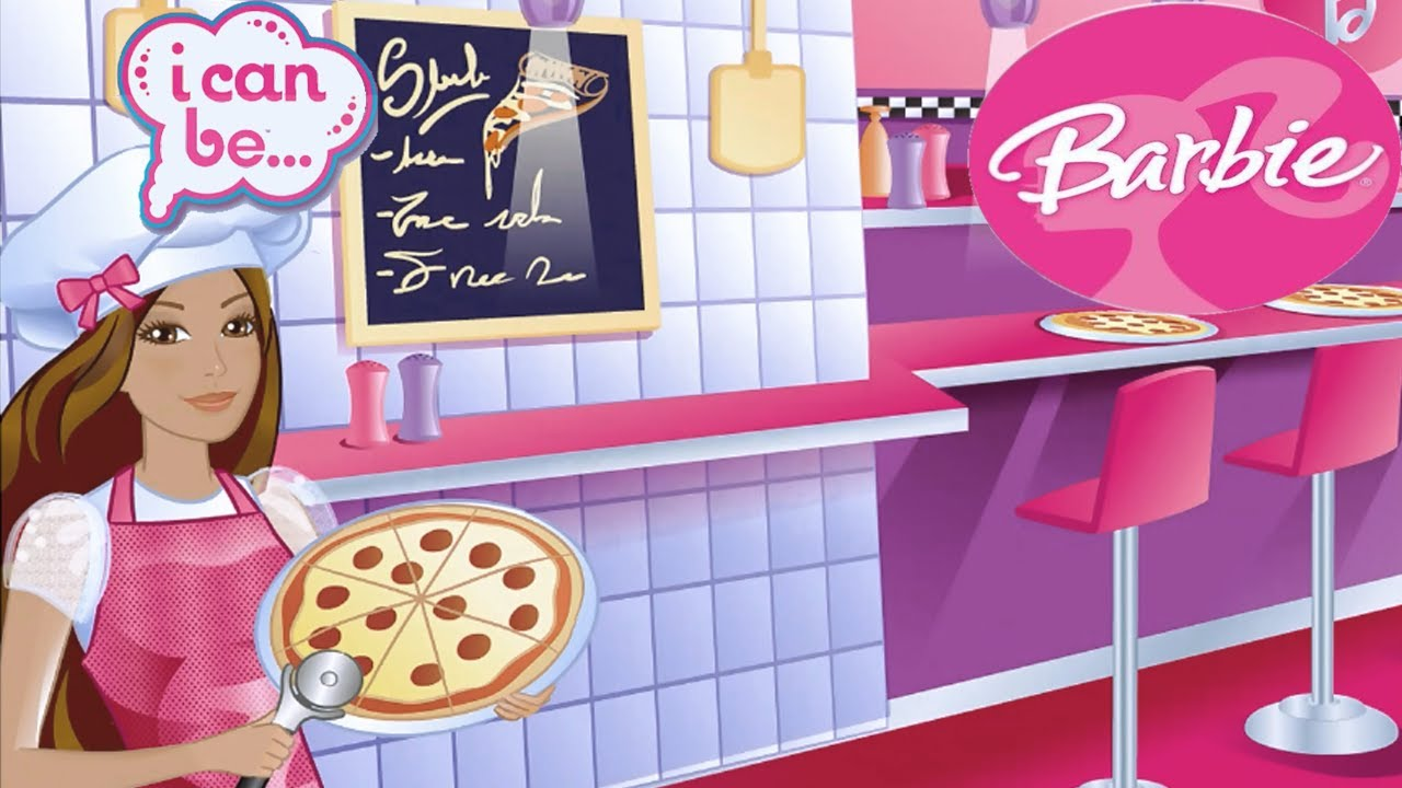 Barbie I Can Be Cook Game (NEW Barbie Game For Girls