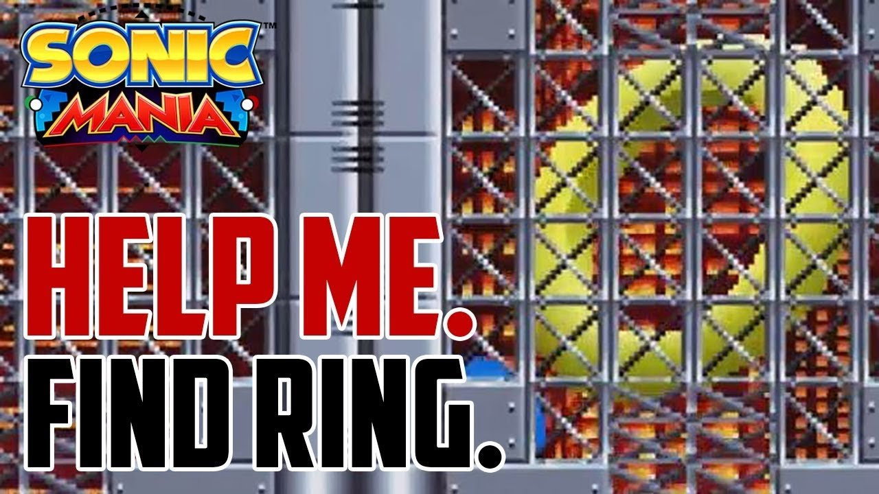Sonic Mania : How to Get the Giant Ring in Chemical Plant Act 1 (Emerald  Bonus Stage Location)1