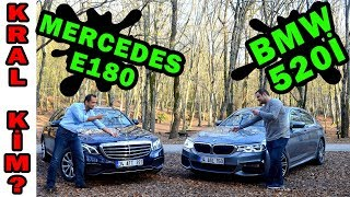 Karşılaştırma | Mercedes Benz E180 vs BMW 520i 2018