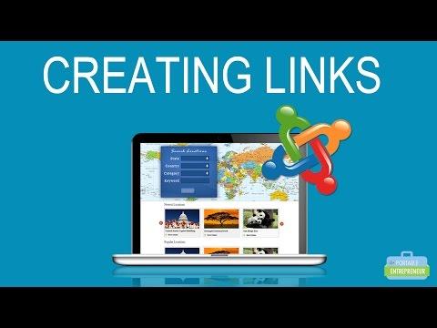 Joomla: How To Create Links In Your Joomla Articles