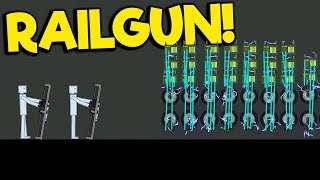 I Tested a Railgun VS Shield Soldiers! - People Playground Gameplay