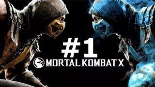 Mortal Kombat X — Kampania - Na żywo