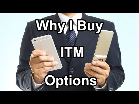 Why I Buy ITM Options