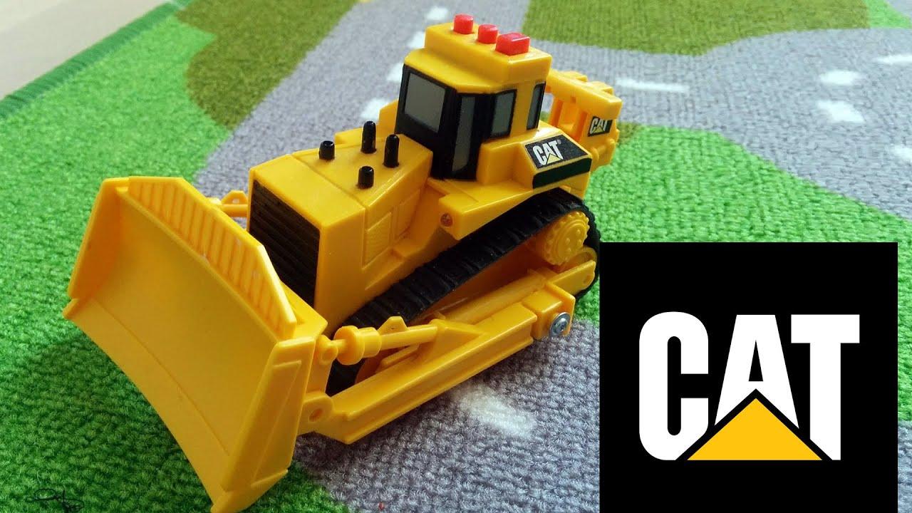 Caterpillar Toy State Mini Mover Bulldozer toy - YouTube