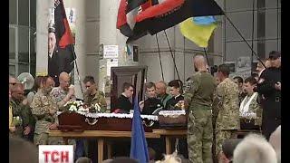 Двох загиблих добровольців провели в останню путь у Києві