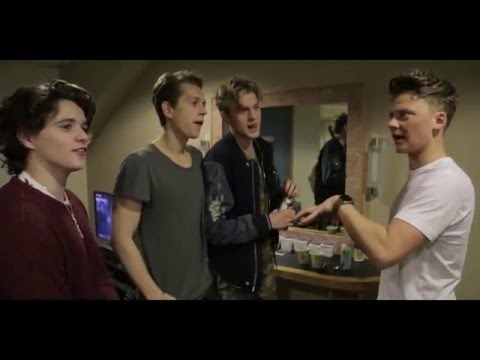 ON TOUR WITH THE VAMPS