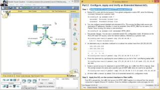 4 1 1 10 packet tracer configuring extended acls scenario 1