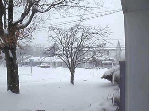 Pennsylvania snow storm 2-13-2014