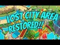 TALKING TOM POOL - Lost City New Area Fully Restored with Premium Paid Upgrades Android / iOS