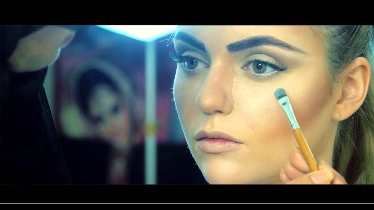 High Fashion Makeup For Fashion shoot - YouTube