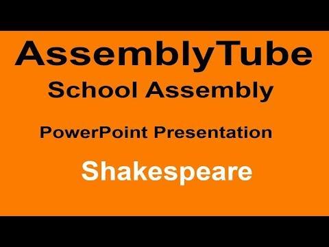 Shakespeare Assembly Presentation