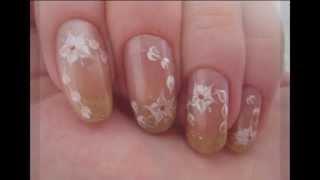Рисунки на ногтях иголкой. Видеоурок № 13.(Для выполнения этих простых рисунков на ногтях вам понадобиться иголка и лаки двух цветов. Более подробное..., 2013-07-14T06:25:27.000Z)