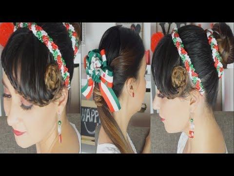 Peinados para fiestas patrias cabello corto