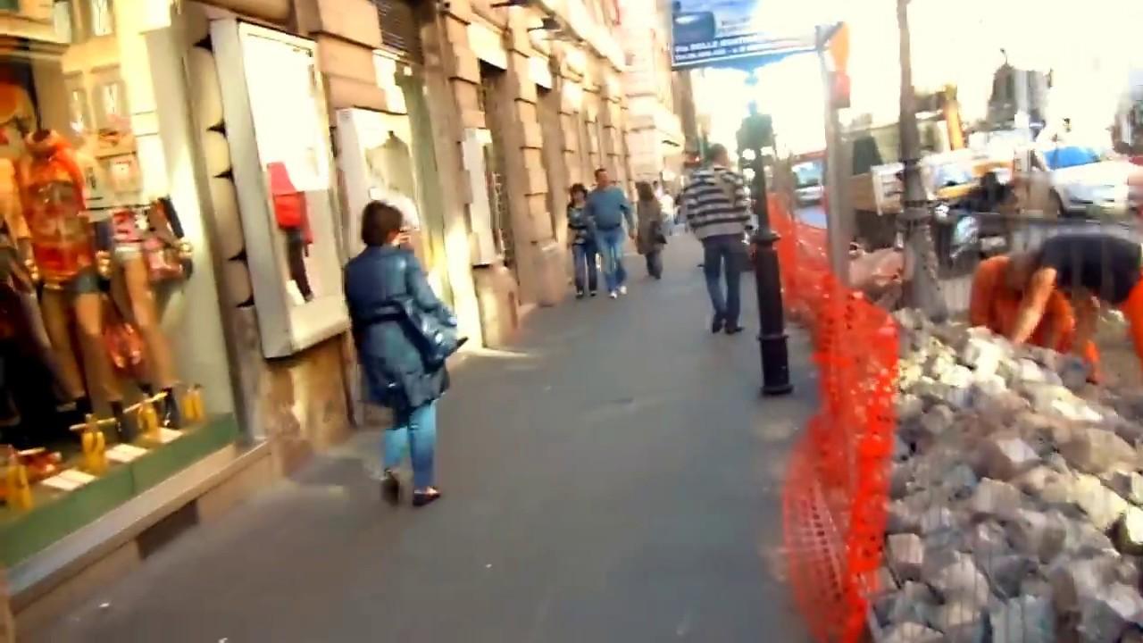 passeando pelas ruas de Roma - Itália - YouTube 974f6abe209e5