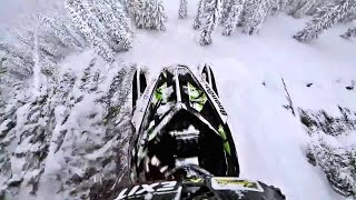 Покатушки на снегоходах! ОЧЕНЬ Красивые места! Polaris mountain. cмотреть видео онлайн бесплатно в высоком качестве - HDVIDEO