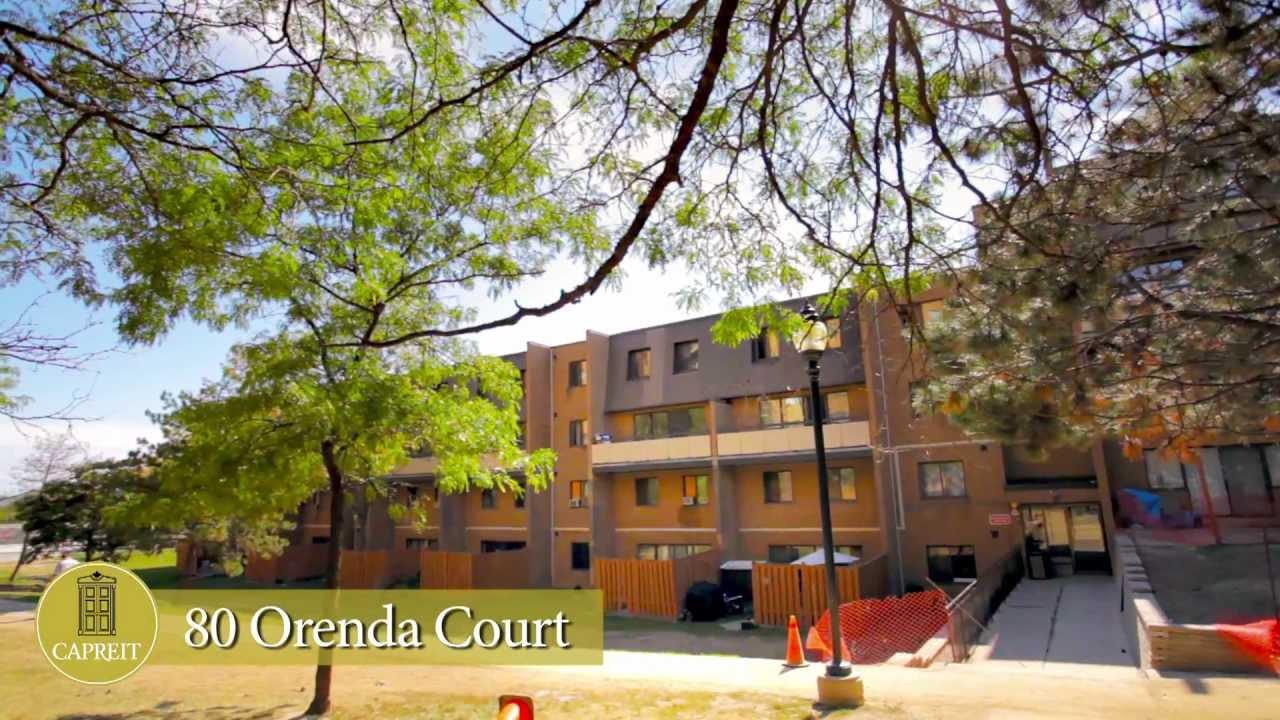 Brampton Apartments For Rent Video   80 Orenda Court