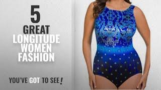 Longitude Women Fashion [2018 Best Sellers]: Longitude Plus Gilded Age Highneck Tummy Control One