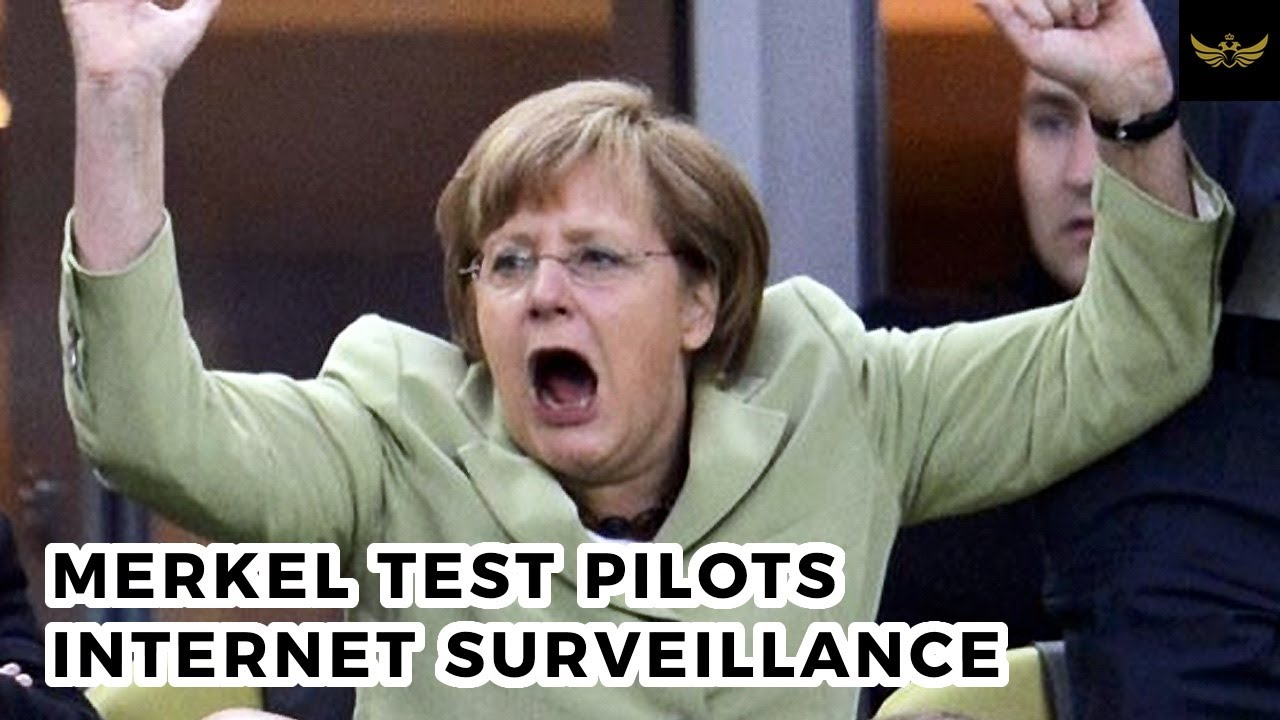 Angela Merkel test pilots China style internet surveillance