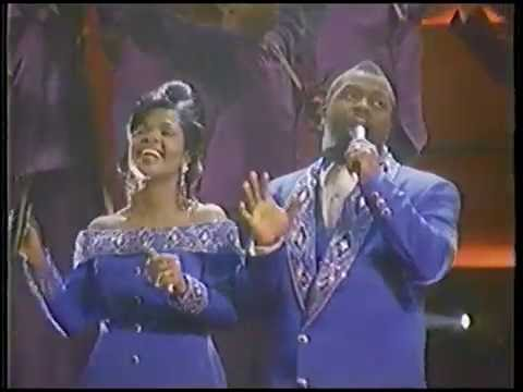 Bebe and Cece Winans in McDonalds Ad from 1992