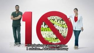 Advance Lifebuoy - one solution for 10 infection-causing germs