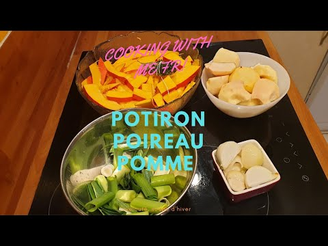 une-soupe-par-jour/veloute-de-potiron-poireau-#soupe-5-#soupemaison-#cookingwithme-#unesoupeparjour