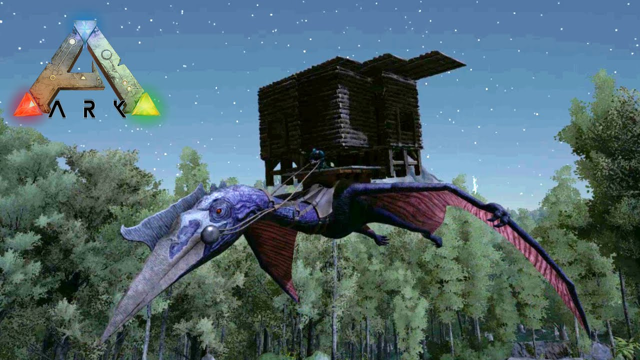 how to build a base on a quetzal ark