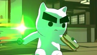 Overwatch Cats: A New Challenger Approaches  'Katsuwatch' Cartoon
