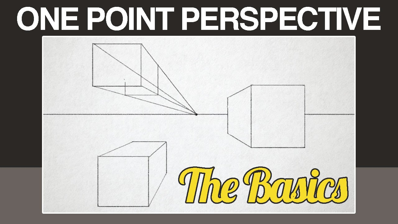 Worksheets One Point Perspective Worksheet one point perspective youtube
