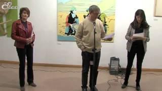 Inauguración de la exposición del XVIII Certamen Nacional de Artes Plásticas Universidad de