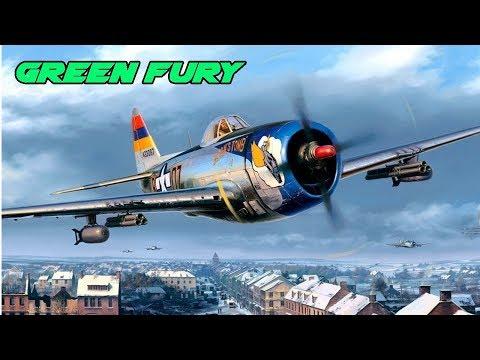 Fight of the week - P47 D28 Vs BF 109 G2 - War Thunder - High Alt Technique