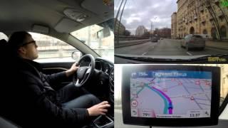 видео GPS-навигатор Garmin DriveAssist 51 RUS LMT