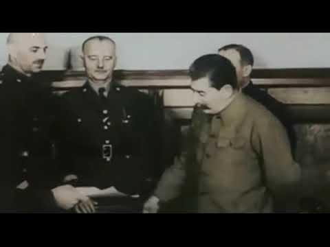 Сикорский и Сталин - Генерал Сикорский побывал в Москве - Дружба Польши и России - Sikorski & Stalin