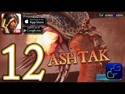 Dungeon Hunter 5 Android IOS Walkthrough - Part 12 - Solo Bounty 12-13 (EASY)