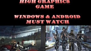 TOP 5 HIGH GRAPHICS SHOOTING GAMES FOR WINDOWS/ANDROID MOBILES