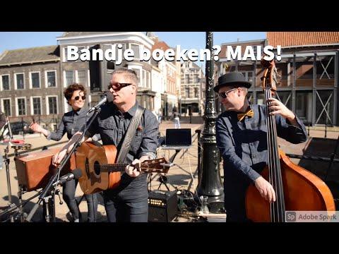 Bandje boeken? Akoestische band MAIS - coverband - akoestische live muziek - bruiloft - feest.