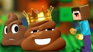 ПЯТЬ УНИТАЗОВ 💩 Бейблэйд Бёрст и Лего НУБик Майнкрафт Мультфильмы для Детей - LEGO Animation