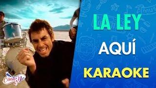 La ley - Aquí (Official CantoYo Video)