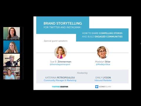 Webinar Recording: Best Practices for Brand Storytelling on Social Media