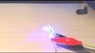 ОБЗОР RGB СВЕТОДИОДОВ 5ММ С ПЛАВНОЙ СМЕНОЙ ЦВЕТА(Для изготовления RGB светодиодной лампы с плавной сменой цвета купил эти светодиоды с встроенным контроллер..., 2015-04-15T17:01:30.000Z)