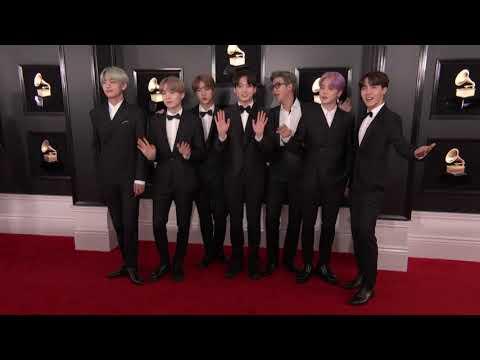 BTS on the Red Carpet | 2019 GRAMMYs
