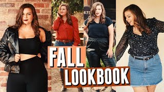 Fall Lookbook 2018! Day to Night Fall Outfits w/ Nasty Gal!