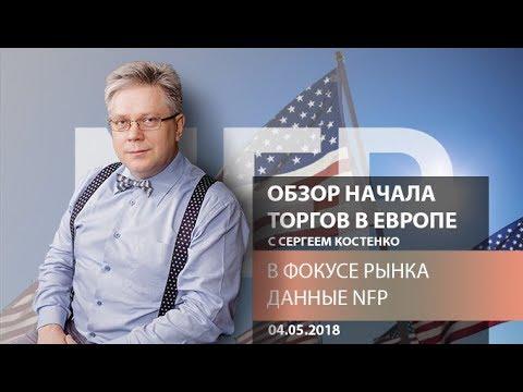 Аналитика рынка Форекс: В фокусе рынка данные NFP - Обзор открытия европейской сессии