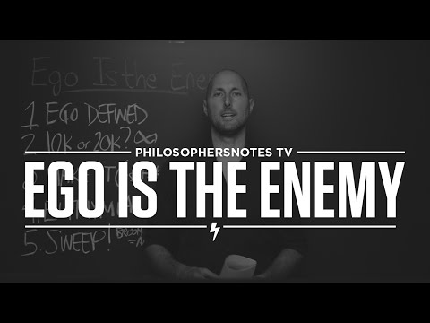 PNTV: Ego Is the Enemy by Ryan Holiday