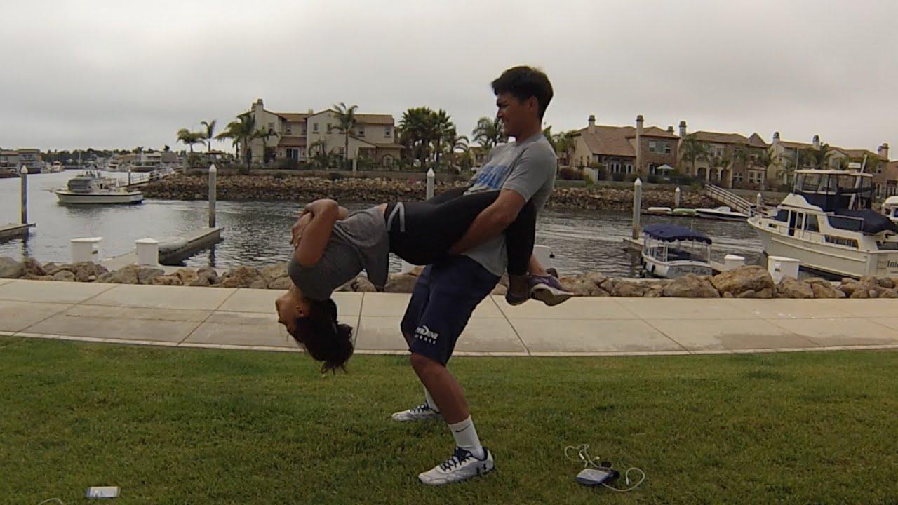 Weird Yoga Poses! - YouTube
