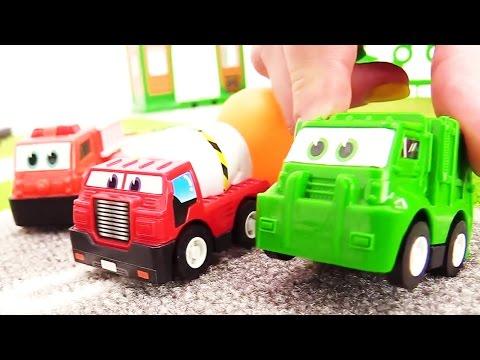 Развивающее видео для детей от 3 лет про машинки на русском языке. Игры и машинки для мальчиков.