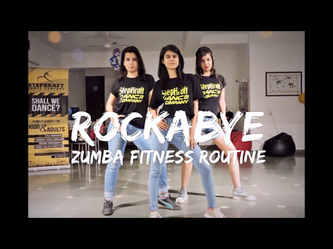 Rockabye | Zumba Fitness Routine | Easy Dance Steps | StepKraft
