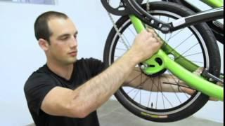 Removing the ElliptiGO 8-speed rear wheel