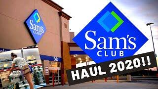 SAM'S CLUB GROCERY HAUL 2020!!