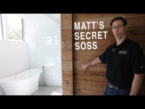 Hidden Door In A Wood Wall  Soss Hinge Review  YouTube