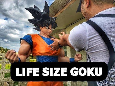 Life Size Goku Statue-Episode 65